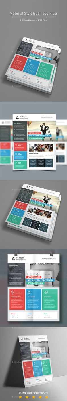 Flyer Flyer template, Template and Business flyer templates - sell sheet template