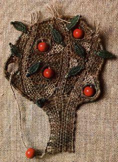 Paličkování | Paličkovaná krajka - Iva Prošková Christmas Wreaths, Holiday Decor