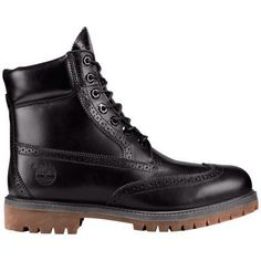 15c6081a7e956 Men s Limited Release Timberland 6-Inch Waterproof Brogue Boots Black  Full-Grain Timberland 6