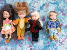 BARBIE-SISTER-KELLY-GROUP-161-LOT-OF-FOUR-1996