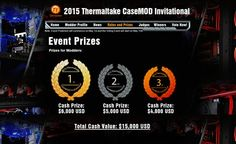 """Battle for the Best Seven World Top Casemodders Go Head to Head at the """"2015 Thermaltake CaseMOD Invitational"""""""