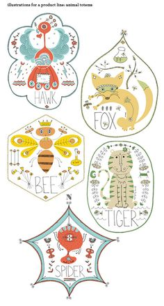 Illustrations by Alison Oliver,she actually makes these animals look cutely adorable.