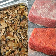 A basic guide for how to grill brisket on a gas grill that includes recipes for both a rub and apple butter barbecue sauce. Grilling Gifts, Grilling Recipes, Meat Recipes, Recipies, Barbecue Sauce, Bbq, Grilled Brisket, Flat Iron Steak, Chicken Tenders