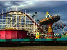 "#santacruz #california #art #photography #boardwalk #artaday #artchallenge ""boardwalk blues"""