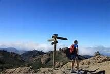 Trekking Gran Canaria - Bing Imágenes Canario, Trekking, Wind Turbine, Image, Hiking