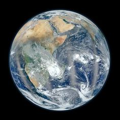 "Nasa's most recent photo of the ""Blue Marble"" from 7,918 miles in space...isn't she beautiful. 2/2/12"