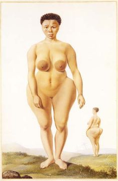 The Hottentot Venus was a real woman, Saartjie Baartman. In 1810, she was transported from South Africa to Europe, where she was exhibited as a curiosity in England and France.