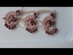 Baby Knitting Patterns, Crochet Flowers, Crochet Earrings, Jewelry, Youtube, Lace, Needlepoint, Dots, Tejidos