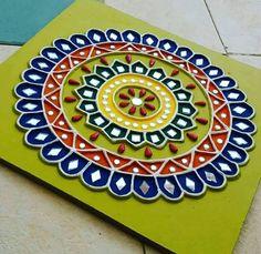 S Media Cache Pinimg Com originals 47 57 Mud Work Paintings Madhubani Art, Madhubani Painting, Clay Wall Art, Clay Art, Mural Painting, Mural Art, Indian Folk Art, Indian Crafts, Indian Art Paintings