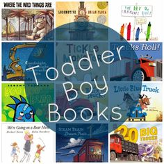 Best Toddler Boy Books