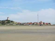 West Terschelling vanaf het Groene strand genomen