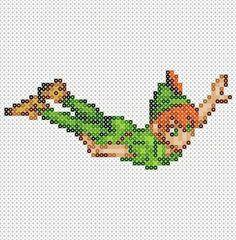 Peter Pan Hama Beads pattern