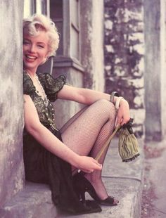 Marilyn Monroe for 'Bus Stop', 1956.
