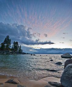✯ Sunset Drama At Tahoe