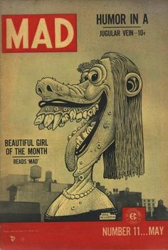 Cover for MAD (EC 1952 serie) #11 - May 1954