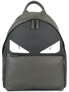 Buy Craig Morrison Green & Gray-to-Black Fade Spiked Bug Bag Backpack at online store