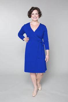 SUNSHINE YELLOW FOR SPRING! Custom A Line Wrap Dress  AbbeyPost ...