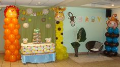"Photo 1 of 23: Jungle Safari / Baby Shower/Sip & See ""LA CASA CERICH PEREZ ESTA A PUNTO DE UNA INVASION"" 