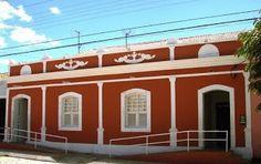a 1ª casa de Jardim do Seridó - atualmente o centro de leitura da cidade