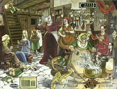 #WomensHistoryMonth#WomensHistoryMonth Castle Waiting ( http://ift.tt/2mULbQy ) Castle Waiting is an Eisner Award winning graphic novel series created by Linda Medley. It is in a world of fairy tales and mythology featuring a mix of old-fashioned storytelling and more ironic modern touches. The series brings together characters from several classic fairy tales such as Simple Simon and Iron Henry as well as referencing several others such as Jack and the Beanstalk and Sleeping Beauty. The…