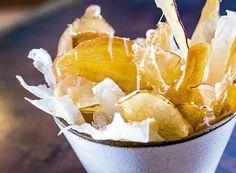 Chips de raízes com sal de limão picante (Foto: Ligia Skowronski/Editora Globo) | Potato