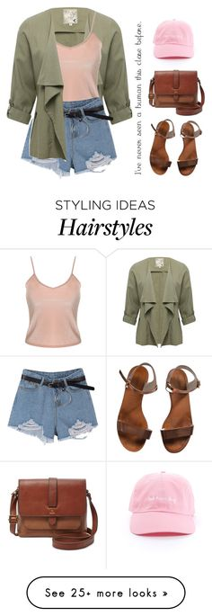 """""""So Simple, So Me"""" by icyhot on Polyvore featuring M&Co, Emporio Armani and FOSSIL"""