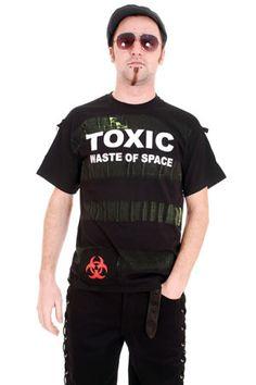 Camiseta MC Distressed Toxic Punk