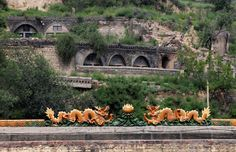 A dragon rooftop decoration is seen in an area where land is sinking next to a coal mine in the abandoned Duxigou village of Xiaoyi, China's Shanxi province, August 2, 2016. REUTERS/Jason Lee           SEARCH 'SINKING CHINA' FOR THIS STORY. SEARCH 'THE WIDER IMAGE' FOR ALL STORIES. via @AOL_Lifestyle Read more: https://www.aol.com/article/news/2017/07/10/sweden-ranked-best-country-to-be-an-immigrant/23023633/?a_dgi=aolshare_pinterest#fullscreen