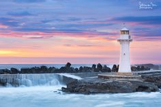 Wollongong Breakwater Lighthouse Lighthouse in New South Wales, Australia Places Around The World, Around The Worlds, Travel Oz, Strange Weather, Beacon Of Light, Travel Alone, Travel Posters, Nice View, Places To Travel