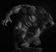ArtStation - Werewolf, Tiago Rios