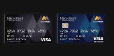 Corporate Branding ( Banking ) by Heru Sidartha, via Behance Credit Card Design, Member Card, Gift Card Number, Visa Gift Card, Plastic Card, Bank Card, Corporate Branding, Plate Design, Print Ads