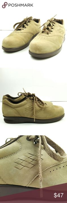 SAS San Antonio Shoemaker Free Time suede 7.5M SAS San Antonio Shoemaker Free Time Oxford Shoes for Women's - Beige Suede - in very good condition size 7.5M SAS Shoes Flats & Loafers