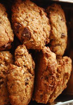 » Cookies châtaigne, noisette et chocolat   Clea cuisine