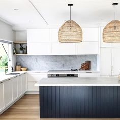 41 Best Of Contemporary Kitchen Design Ideas 12 ? 41 Best Of Contemporary Kitchen Design Ideas 12 Kitchen Interior, New Kitchen, Kitchen Dining, Kitchen White, Neutral Kitchen, Kitchen Bars, Back Splash Kitchen, Modern Shaker Kitchen, Bohemian Kitchen Decor