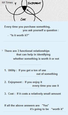 If something is #useful, #enjoyable & #costs less, its #WORTH it #startup #wortheverypenny  http://arzillion.com/S/I1dPzq