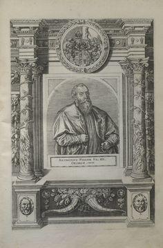 Antonius Fugger Kupferstich von 1618- Stärkung für die Stiftungen