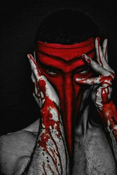 red mask   Very cool photo blog