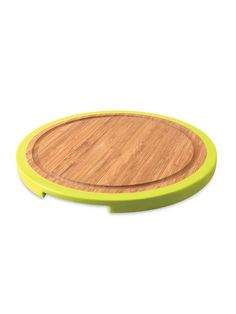 Small Round Bamboo Chopping Board by BergHOFF at Gilt