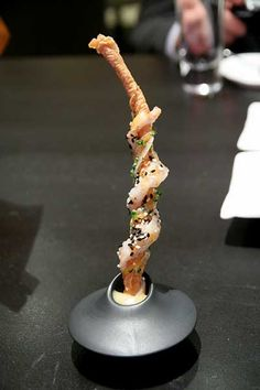 Alinea - shrimp & yuba