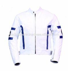 Men Leather Motorbike Jacket Cowhide sports motorcycle racing