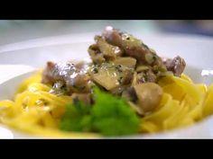 Mi lesz ma a vacsora? - Tejszínes gombás tarja - YouTube Tarot, Spaghetti, Beef, Chicken, Ethnic Recipes, Food, Youtube, Meat, Essen