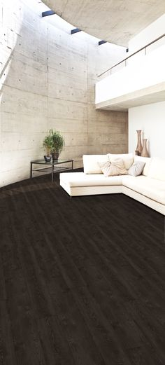 Luxury Vinyl Tile is the perfect addition with carpet tiles, broadloom carpet and custom rugs! #Flooring #LVT #Tile #design #office #interiordesign Pictured: Wood (W1019)