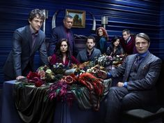 This is one dinner party you won't want to miss… #Hannibal premieres Thursday, April 4 on NBC.