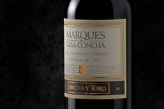 This delight in one of the most exquisite wines from Chile: Concha Y Toro Marques de Casa Concha Camernere Chile by kaoribywm Cabernet Sauvignon, Full Bodied Red Wine, Chimichanga, Plain Greek Yogurt, Wax Paper, Whiskey Bottle, Wines, Berries, Dessert Wine