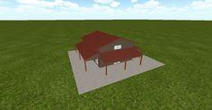 3D #architecture via @themuellerinc http://ift.tt/2mdZKAK #barn #workshop #greenhouse #garage #DIY