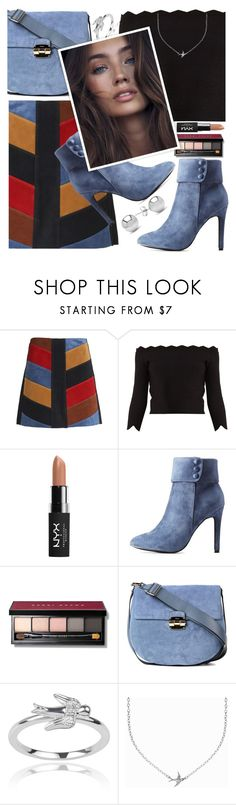 """""""Untitled #538 1/6/18 12:46pm"""" by riuk ❤ liked on Polyvore featuring M.i.h Jeans, Alexander McQueen, NYX, Hot Kiss, Bobbi Brown Cosmetics, Furla, Journee Collection, Minnie Grace and Jewelonfire"""
