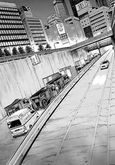 Cityscape Drawing, City Drawing, Aesthetic Japan, Aesthetic Anime, Environment Sketch, Comic Book Layout, Perspective Sketch, By Any Means Necessary, Background Drawing