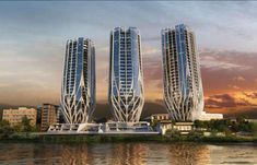 Zaha Hadid's Brisbane towers continue to raise eyebrows   Architecture And Design