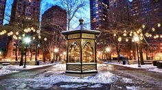 Rittenhouse Square in Snow from Anthony Sinagoga's Photo Blog