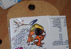 Villmarkshjerte: Hvordan lage en melkekartong-lommebok!!! Cover, Books, Crafts, Livros, Libros, Livres, Book, Crafting, Handmade Crafts
